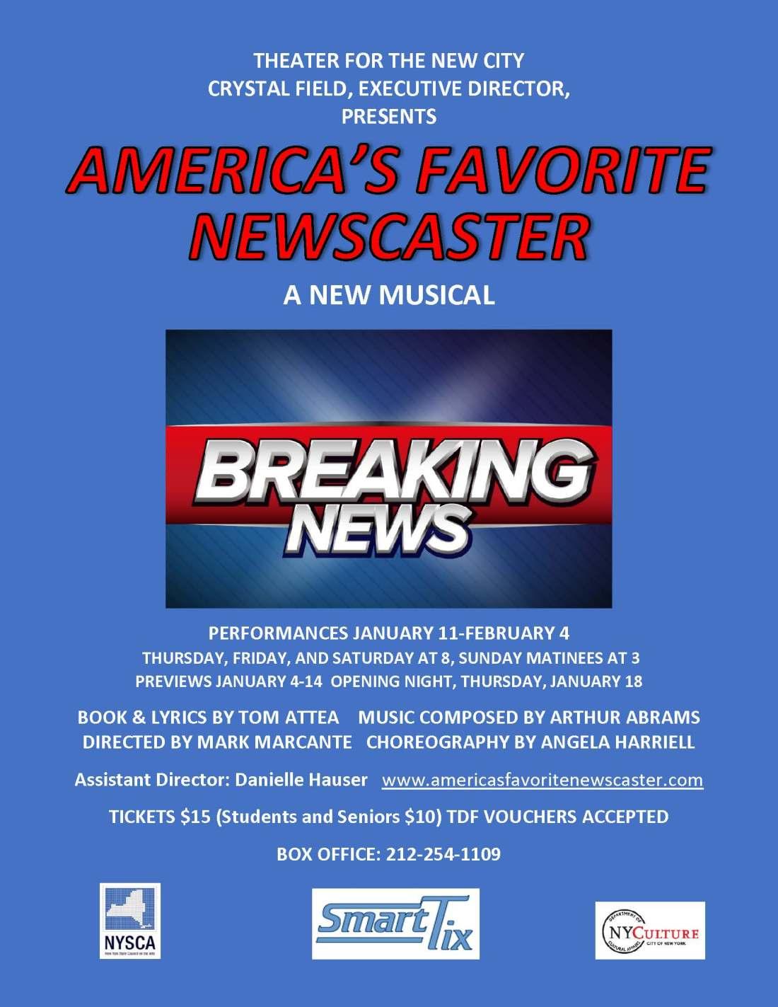 Americas Favorite Newscaster_Temporary Flyer